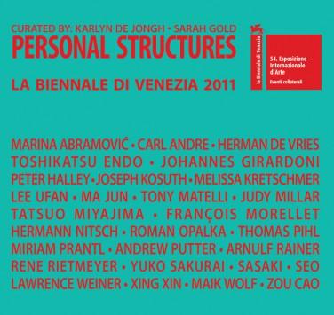 Personal Structures La Biennale di Venezia 2011