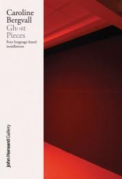 Caroline Bergvall Ghost Pieces cover