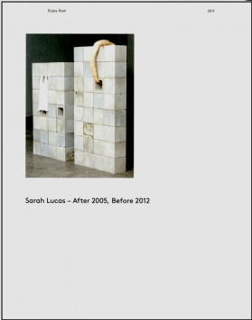 Sarah Lucas After 2005 Before 2012