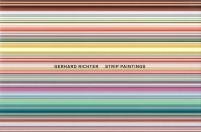 Gerhard Richter Strip Paintings cover