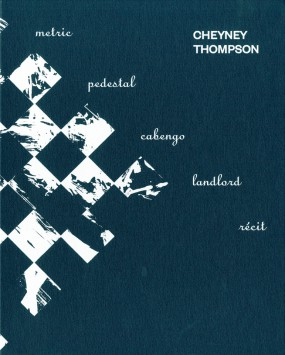 Cheyney Thompson new cover image