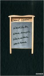 Daneil Spoerri Waschbretter, Waschrumpeln, Waschrubbeln, Wash Board cover