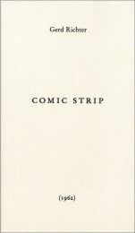 Gerhard Richter Comic Strip cover image