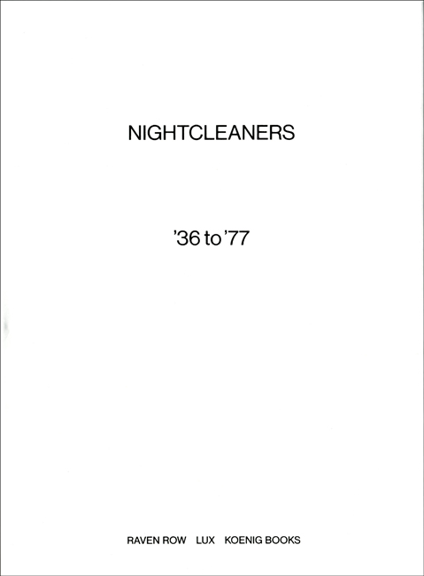 berwick street film collective nightcleaners 36 to 77